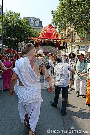 Hare Krishna Editorial Stock Image