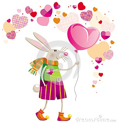 Hare on Valentine s Day