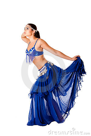Harem belly dancer
