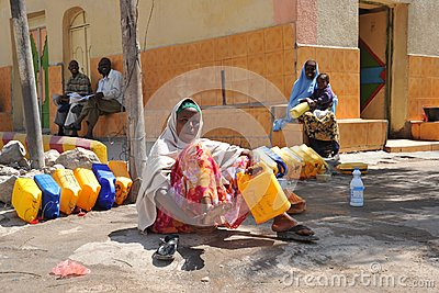 Hargeisa is a city in Somalia Editorial Photo