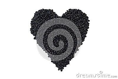 Haricots noirs : Élément nutritif sain de coeur