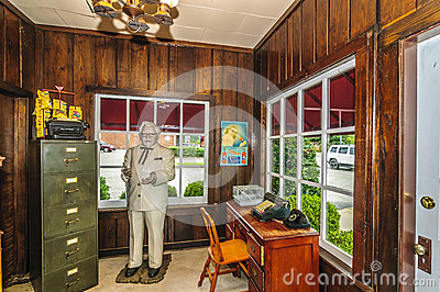 Harland Sanders Café and Museum Editorial Stock Photo