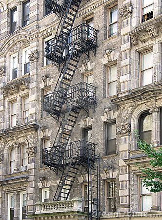 Free Harlem Apartment Building Stock Photography - 7175122