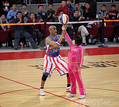 Harlem Globetrotters 2009 China Tour Show Editorial Photography