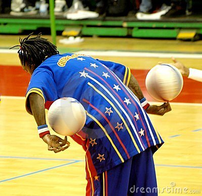 Harlem Globetrotters - Italian tour 2010 Editorial Stock Image
