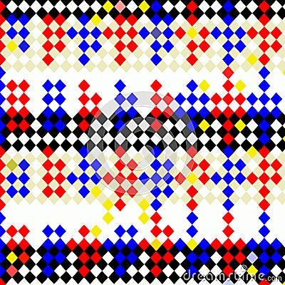 Harlequin checks pattern