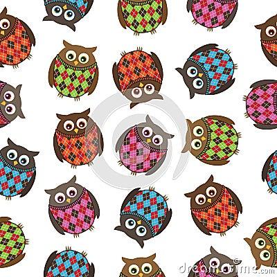 Harlequin owls
