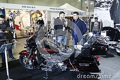 Harley-Davidson FLHTCUSE 6 CVO Ultra Classic Editorial Stock Image