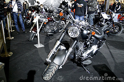 Harley-Davidson FLSTFB Softail Fat Boy Special Editorial Image