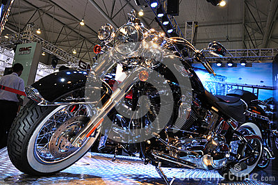 Harley Davidson motorcycle Editorial Image
