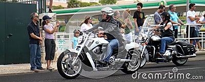 Harley Davidson parade Editorial Image