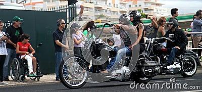 Harley Davidson parade Editorial Photography