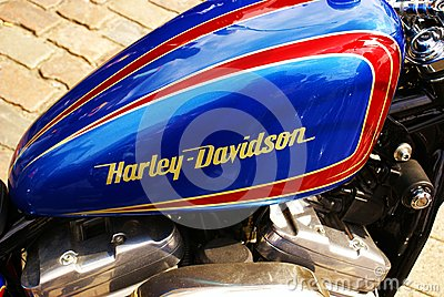 Harley Davidson Editorial Photography