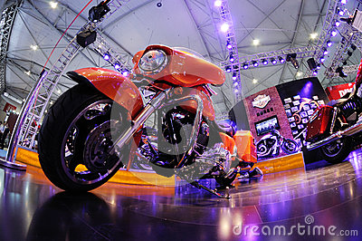 Harley motor bike Editorial Stock Photo