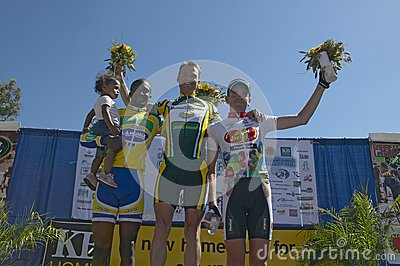 Harm Jansen receiving trophy Editorial Photo