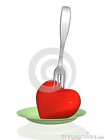 Harmful food - threat to health of heart