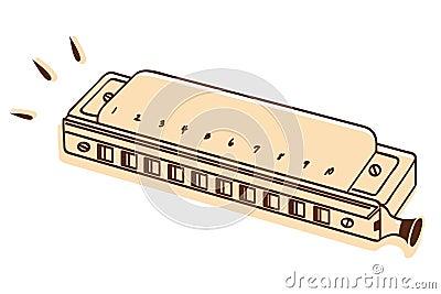 Harmonica vector
