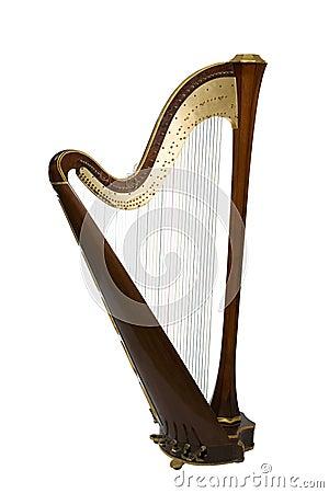 Free Harp Stock Image - 12455361