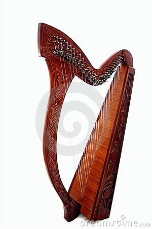 Free Harp Royalty Free Stock Photo - 8538495