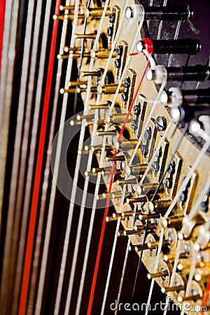 Harp close up