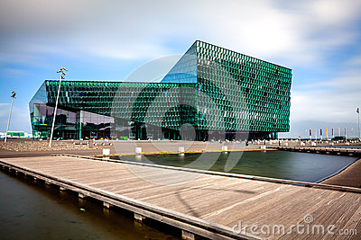Harpa Concert Hall Editorial Image