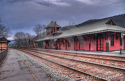 Harper s Ferry West Virginia Train Station