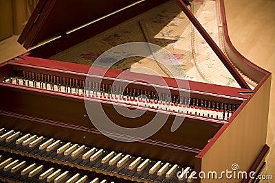 Harpsichord in philharmonic