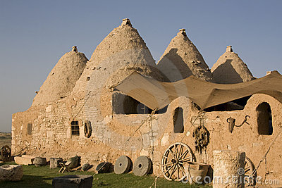 Harran, conical houses - Anatolia