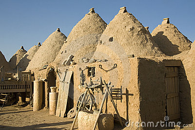 Harran, traditional houses - Anatolia