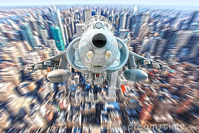 Harrier fighter jet