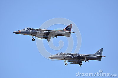 Harrier Jets Editorial Photography