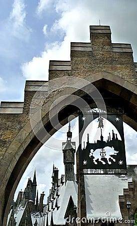 Harry Potter Redaktionell Arkivfoto
