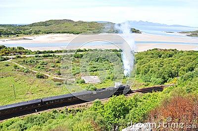 Harry Potter train Scotland.