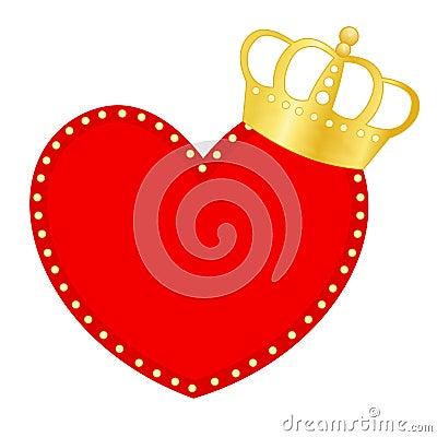 Hart en kroon