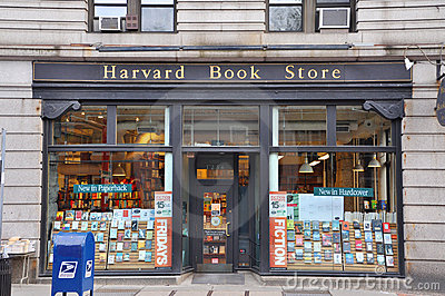 Harvard Book Store Editorial Image