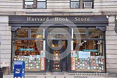 Harvard Book Store, Boston, USA Editorial Image