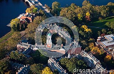 Harvard campus area