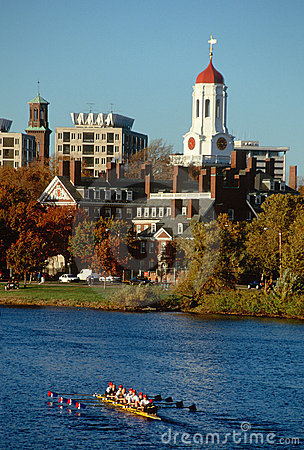 Free Harvard Rowing Team And Building, Cambridge, MA Royalty Free Stock Photo - 23148615