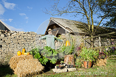 Harvest festival decoration Editorial Photo