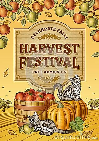 Free Harvest Festival Poster Stock Photo - 57843600