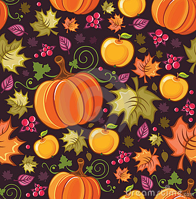 Harvest Seamless Pattern 4