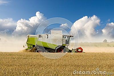 Harvesting Combine