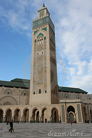 Hassan II Mosque Editorial Image