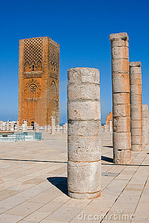 The Hassan Tower.