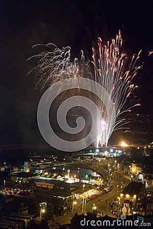 Hastings Fireworks 2008