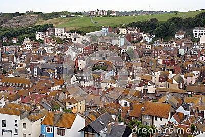 Hastings old town.