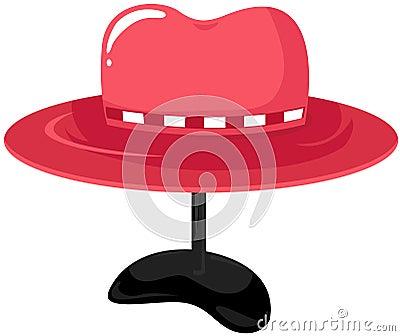 Hat on mannequin