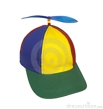 Hat with Propeller