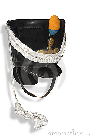 Hat (shako) of infantry soldier