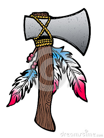 Hatchet illustration